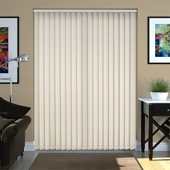 Abel Ecru Vertical Blind