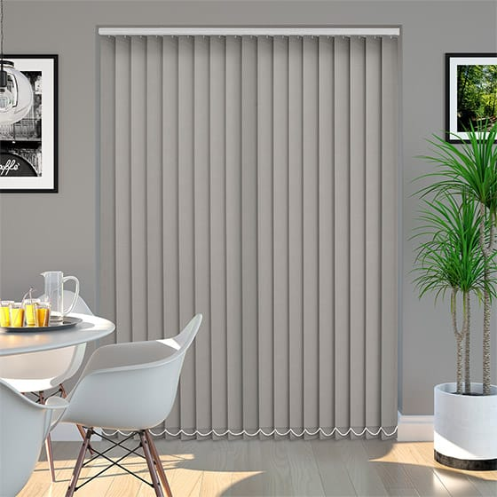 Addison Dove Grey Vertical Blind