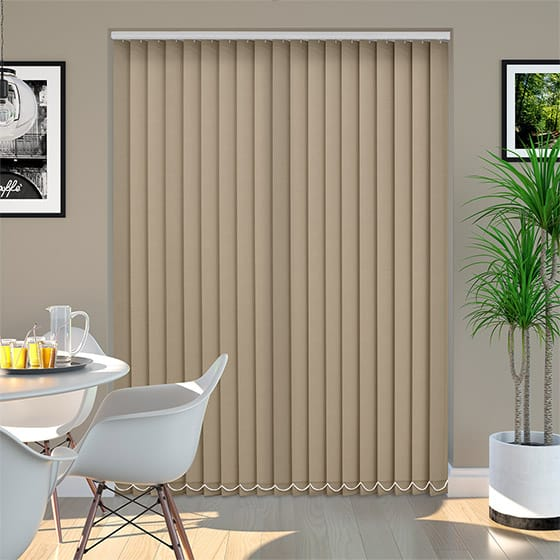 Addison Toffee Vertical Blind