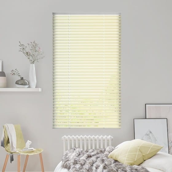 Almond Alure Venetian Blind - 25mm Slat