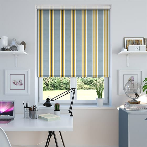 Balanced Stripe Sky Roller Blind