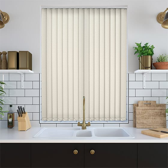Barrow Warm Ivory Vertical Blind