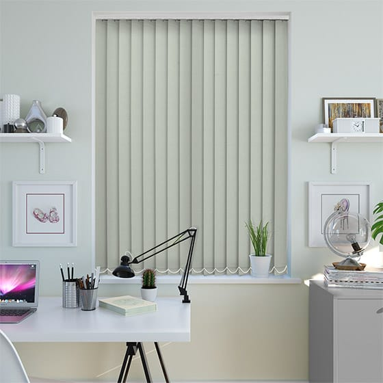 Baylee Grey Mist Vertical Blind