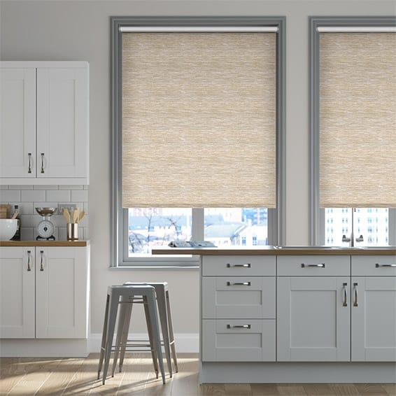Berkeley Blackout Golden Sand Roller Blind