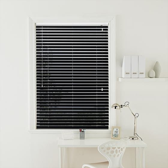 Black Magic Venetian Blind