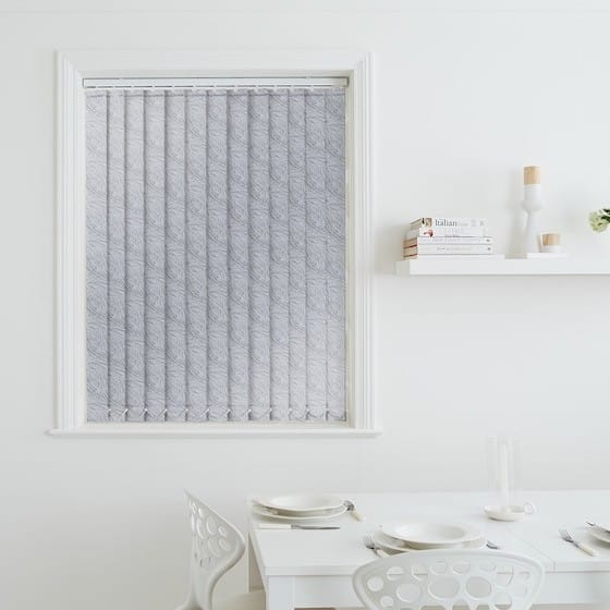 Breeze Grey Blackout Vertical Blind
