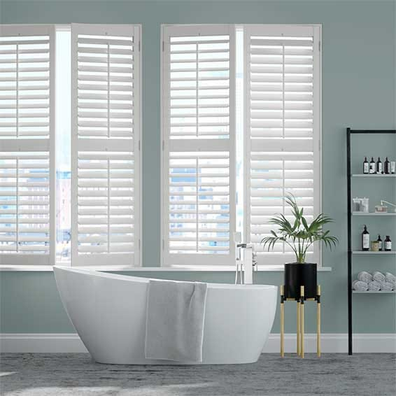 Brooklyn Pure White Shutter Blinds