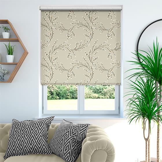 Budding Twigs Autumn Roller Blind