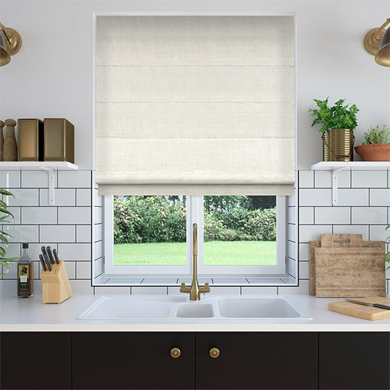 Cannaregio Buttercream Roman Blind