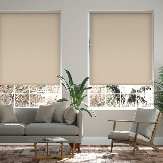 Cannes Blackout Hazy Day Roller Blind