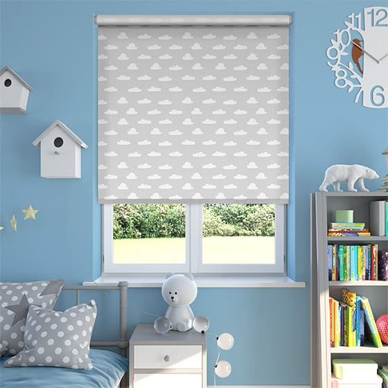 Cloud Nine Thunder Blackout Roller Blind