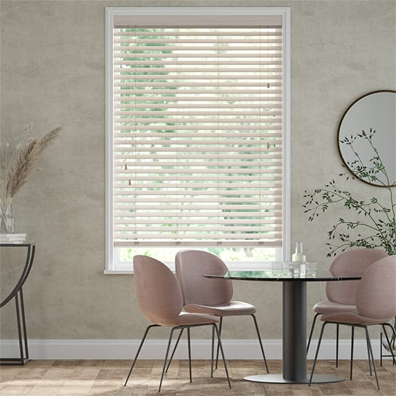 Contempo Almond Faux Wood Blind