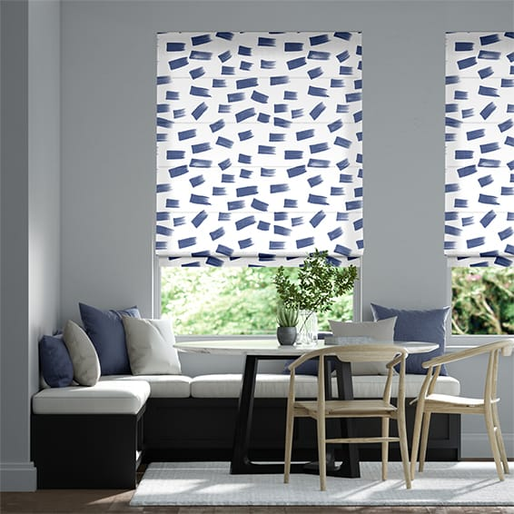 Dash China Roman Blind