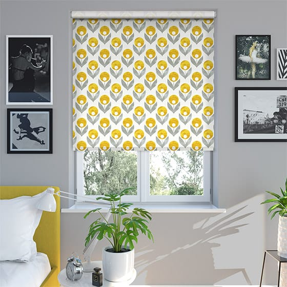 Deco Golden Roller Blind