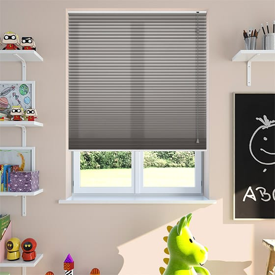 DuoLight™ Pewter Pleated Blind