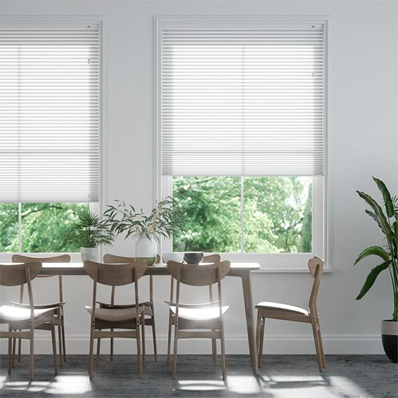 DuoLight™ Pristine White  Pleated Blind