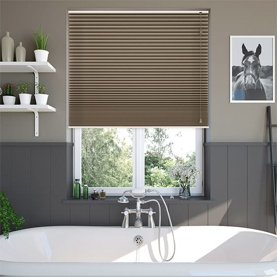 DuoShade™ Chocolate Pleated Blind