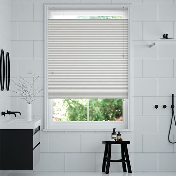 DuoShade Grey Top Down Bottom Up Pleated Blind