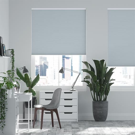 DuoShade™ Blue Haze Pleated Blind