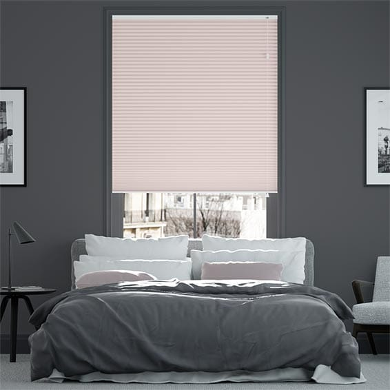 DuoShade™ Pink Blush Pleated Blind