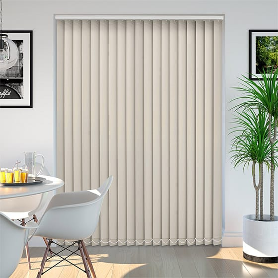 Eden Beige Vertical Blind