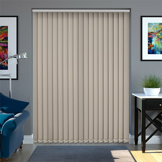 Eden Biscuit Vertical Blind