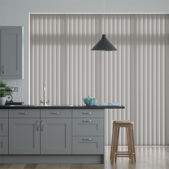 Eden Modern Grey Vertical Blind