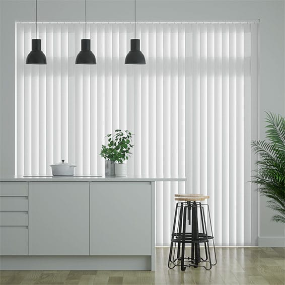 Eden Soft White Vertical Blind