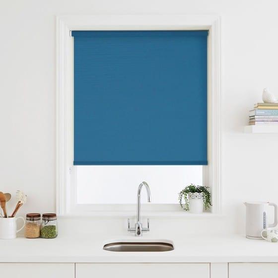 Elegant Azure Roller Blind