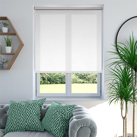 White Roller Blinds : White roller blinds pure custom made by web