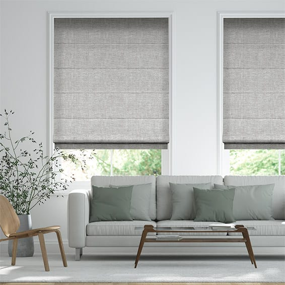 Entwine Grey Roman Blind