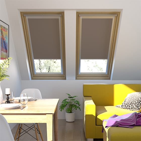 Essentials Coffee Skylight Blind