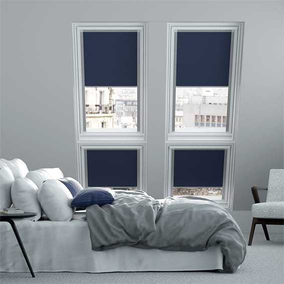 Essentials Navy Skylight Blind