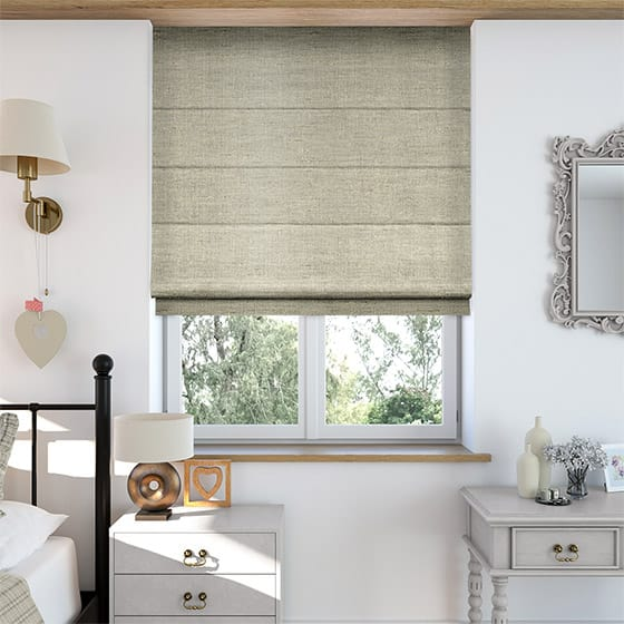 Faux Silk Luxe Gold Roman Blind