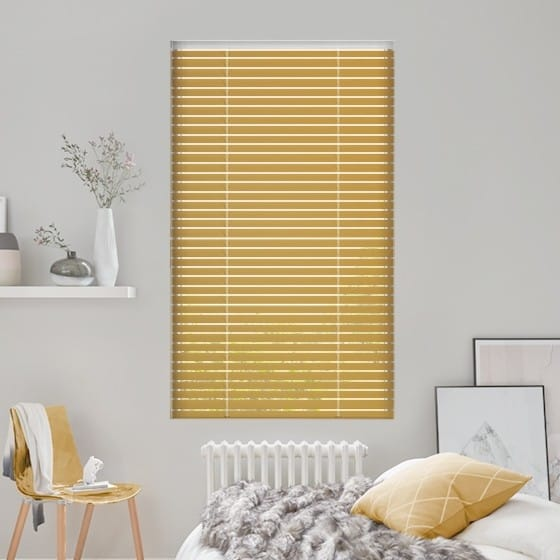 Feather Gold Venetian Blind