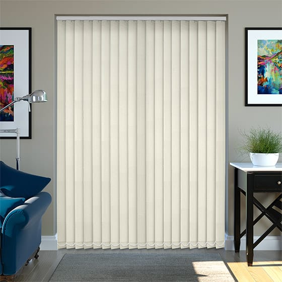 Finnegan Ivory Vertical Blind