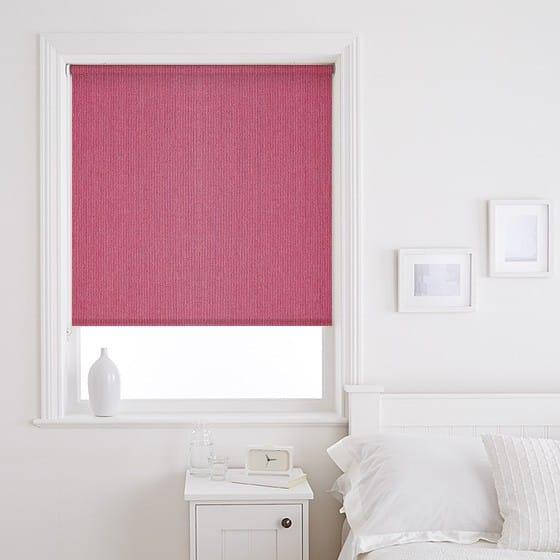 Fresh Raspberry Roller Blind