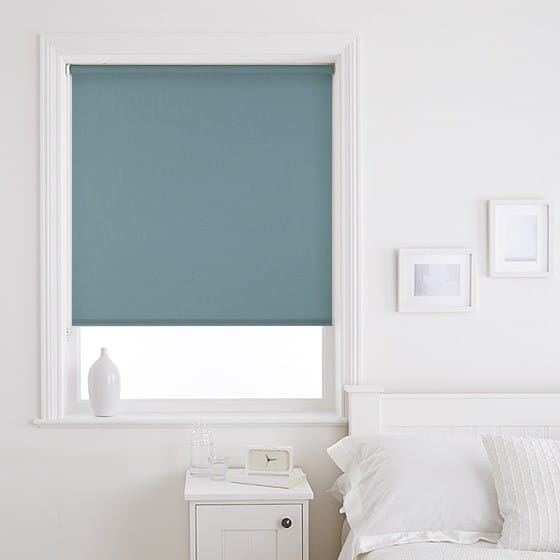 Fresh Teal Roller Blind