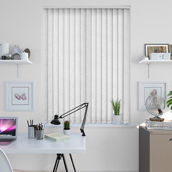 Gala Simply White Vertical Blind