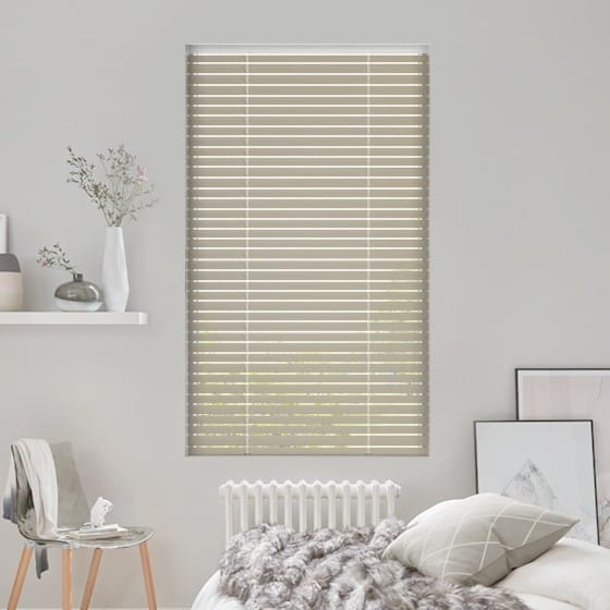 Golden Silver Venetian Blind