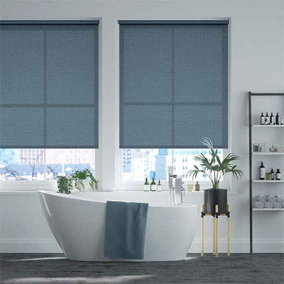 Granada Endless Blue Roller Blind