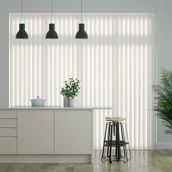 Granada Pale Mist Vertical Blind