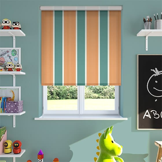 Griddle Pumpkin Roller Blind