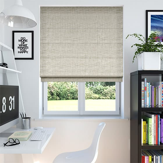 Harness Neutral Roman Blind