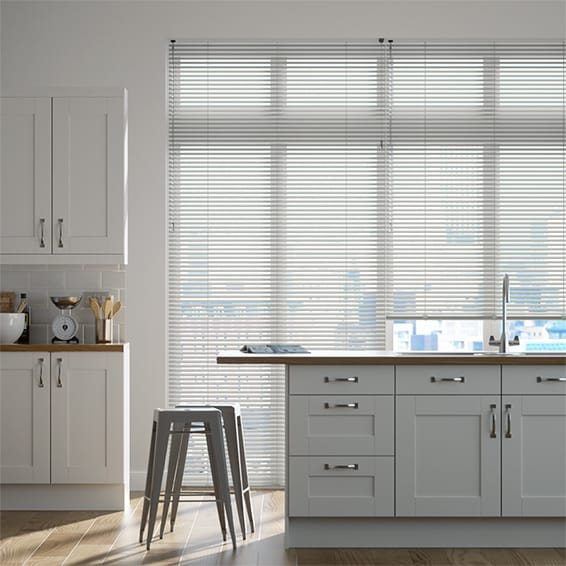 Lightest Grey Venetian Blind