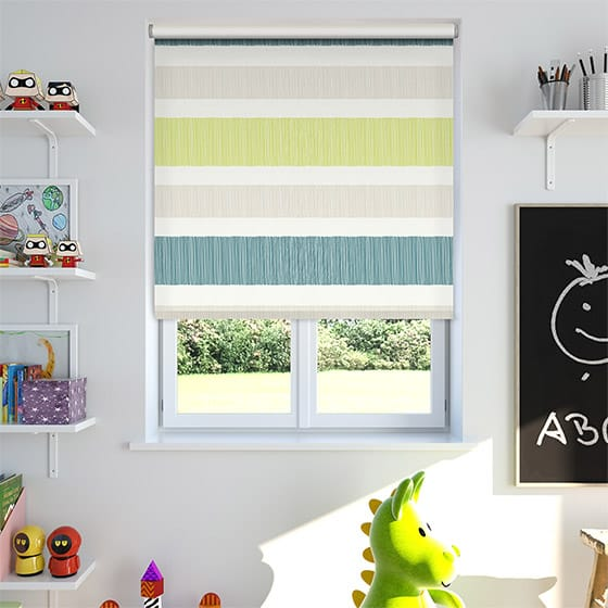 Horizon Stripe Ocean Roller Blind