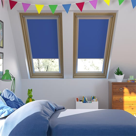 Identity Bright Blue Skylight Blind