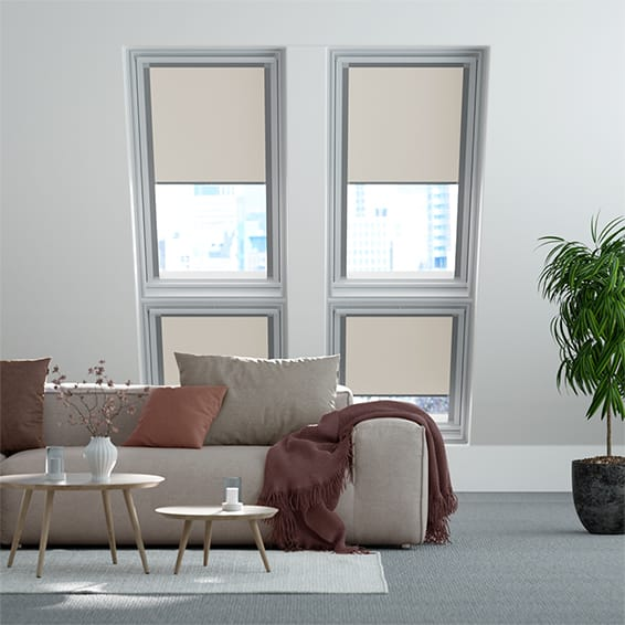 Identity Filtra Grey Light Filtering Blind for VELUX ® Windows