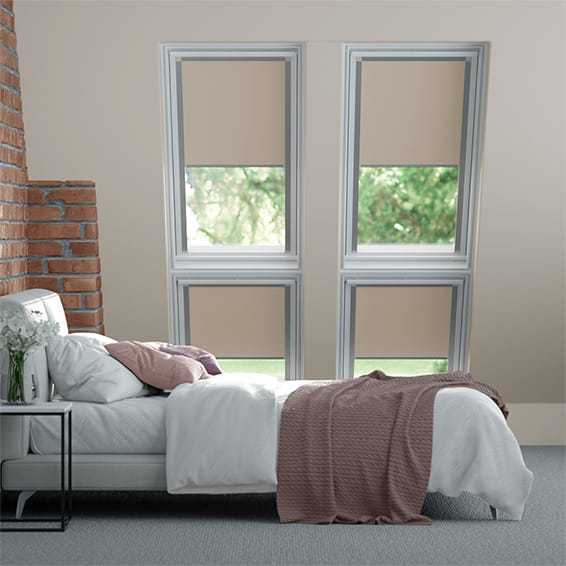 Identity Sandstone Blackout Blind for VELUX ® Windows
