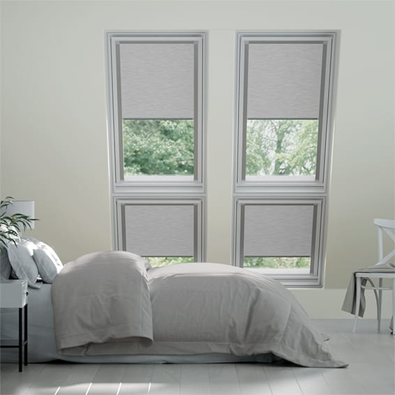 Identity Shimmering Silver Blackout Blind for VELUX ® Windows